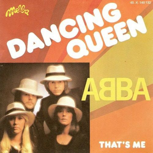 ABBA Dancing Queen Vinyl Record 7 Inch French Melba 1976